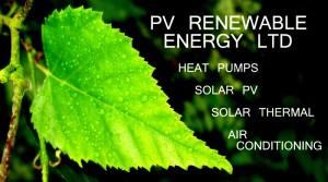 Pv Renewable Energy Ltd Heat Pumps Solar Pv