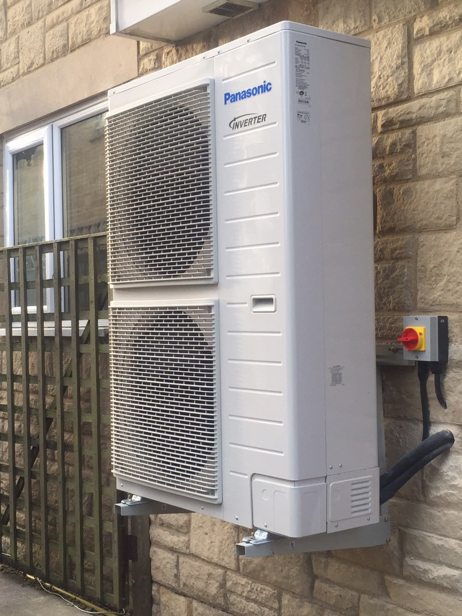 Panasonic Air to water heat pump(ASHP),Chelmsford,Essex.