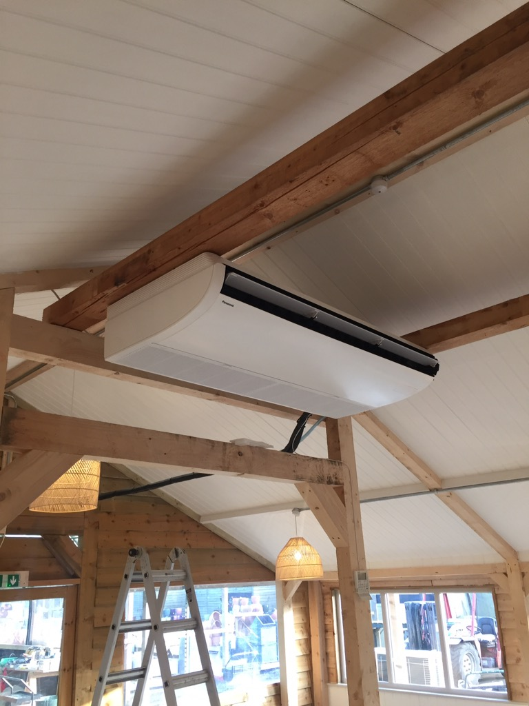 Panasonic ceiling mounted airconditioning , Colchester.